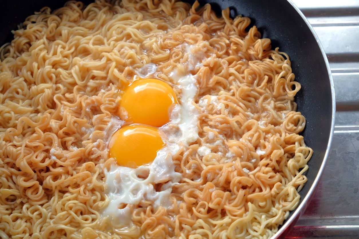 Instant noodle - junk food