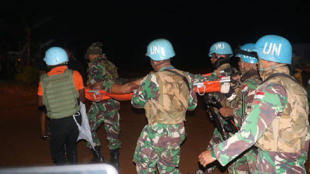 Prajurit TNI gugur saat misi perdamaian PBB di Kongo