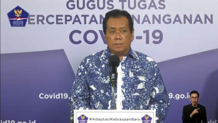 Rektor Universitas Indonesia (UI) Ari Kuncoro (YouTube BNPB)