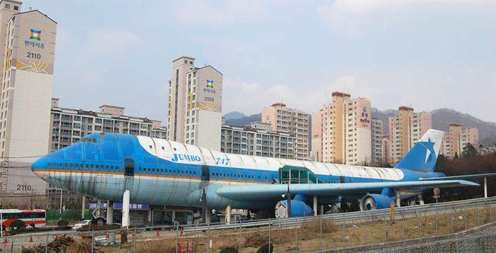 Restoran Pesawat di Korea Selatan