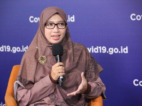 Tim pakar Gugus Tugas Percepatan Penanganan COVID-19 dr Dewi Nur Aisyah.