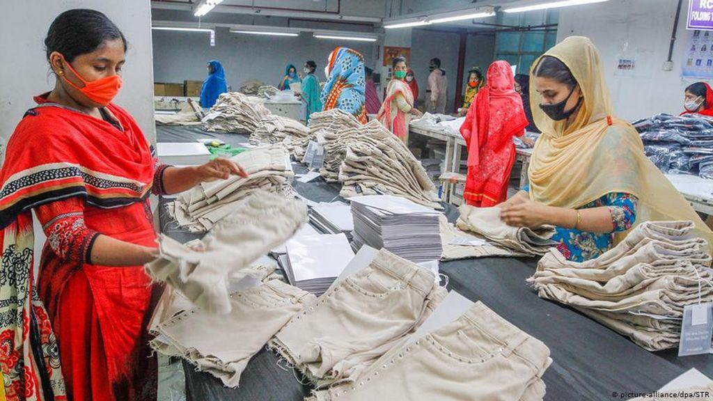 Pandemi Corona Jadi Pukulan Telak Bagi Industri Garmen Bangladesh