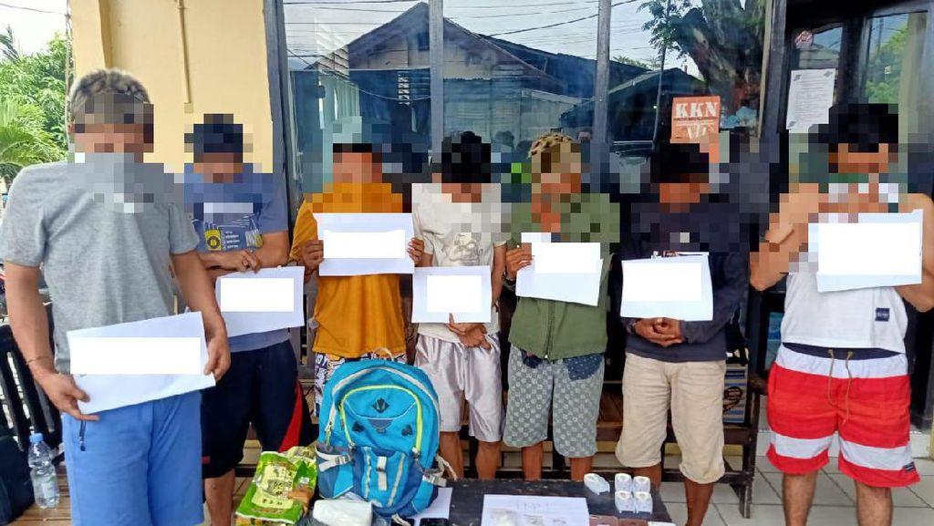 8 Warga Palu Ditangkap Polisi terkait Kasus Narkoba, 1 Pelaku Ditembak