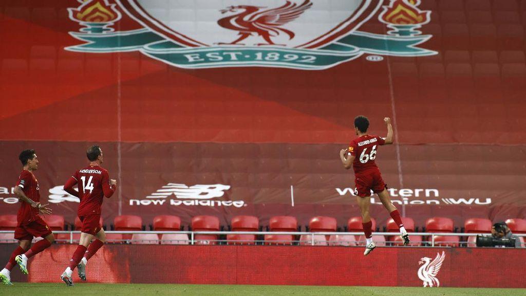 Video Liverpool Resmi Juara Liga Inggris