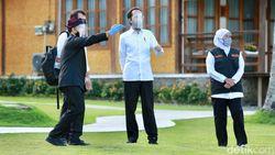 Saat Jokowi Nikmati Sore di Banyuwangi