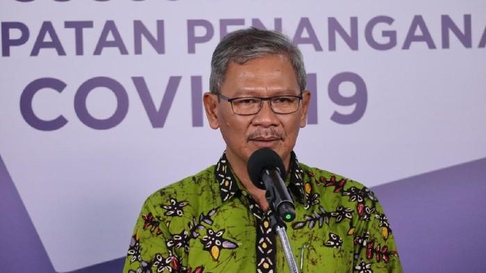 Juru bicara pemerintah untuk penanganan COVID-19, Achmad Yurianto (dok. BNPB)