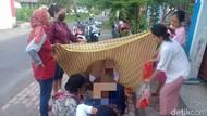 Pengakuan Ibu yang Melahirkan di Trotoar Ditolong Kades Blitar