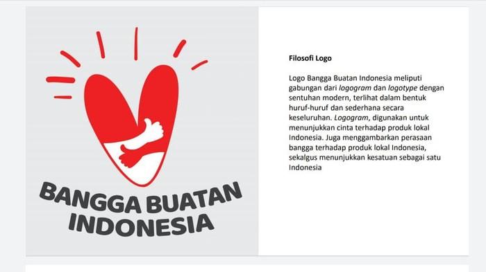 Logo Bangga Buatan Indonesia untuk HUT ke-75 Kemerdekaan RI (Foto: Screenshot SE Mensesneg)