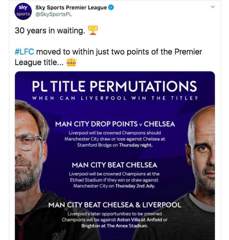 Meme Liverpool di Ambang Juara Liga Inggris