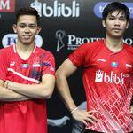 Hasil PBSI Home Tournament Ganda Putra Sesi 3: Rian/Daniel Pecah Telur