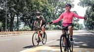 Suka Gowes, Nirina Zubir Bisa Bersepeda Sampai Sejauh 100 Km