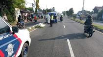 Seorang Pesepeda Tewas Tertabrak Mobil di Ring Road Timur Yogya
