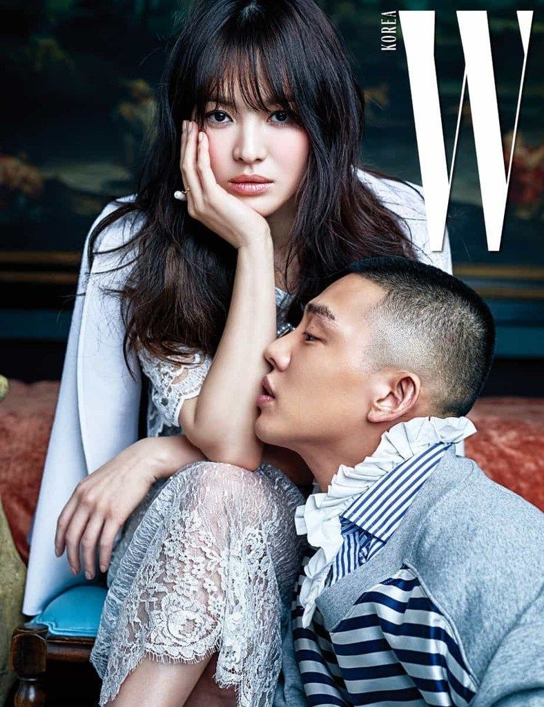 Song Hye Kyo dan Yoo Ah In