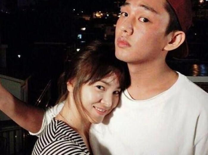 Song Hye Kyo dan Yoo Ah In