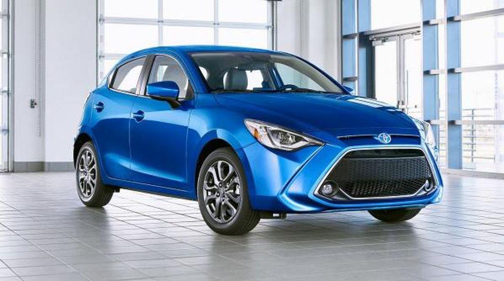 Kurang Laku, Toyota Suntik Mati Yaris di Amerika Serikat