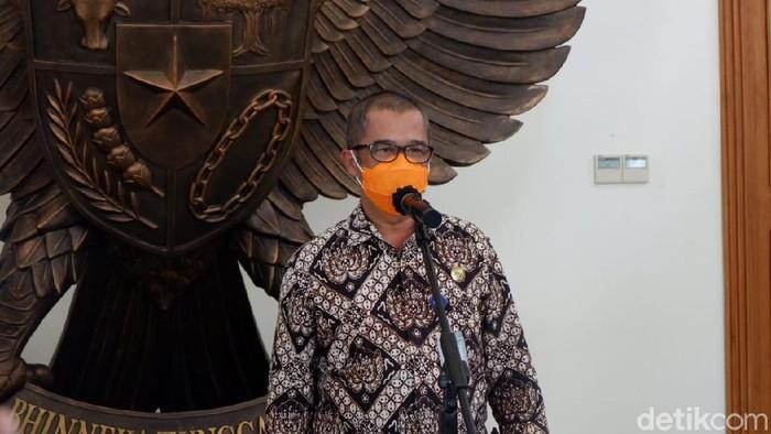 Wakil Ketua Sekretariat Gugus Tugas Penanganan Covid-19 DIY, Biwara Yuswantana, Kamis (25/6/2020).