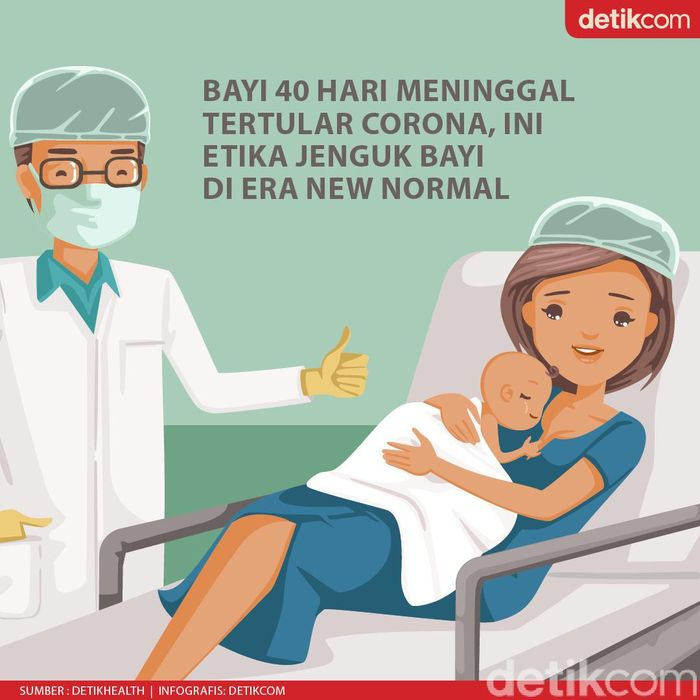 5 Etika Jenguk Bayi Agar Tak Tularkan Virus Corona