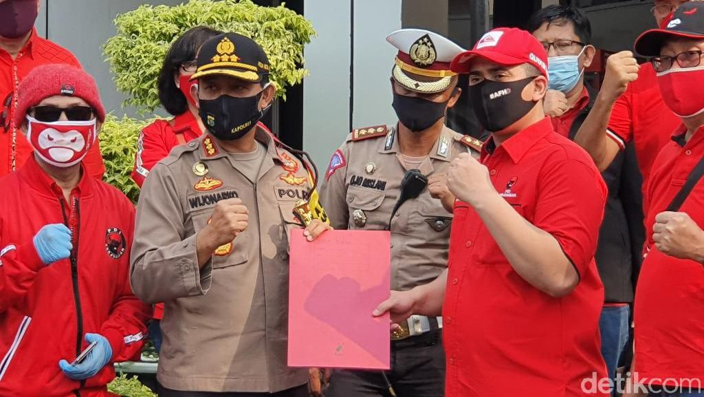 Polres Bekasi Tindak Lanjuti Laporan DPC PDIP soal Pembakaran Bendera