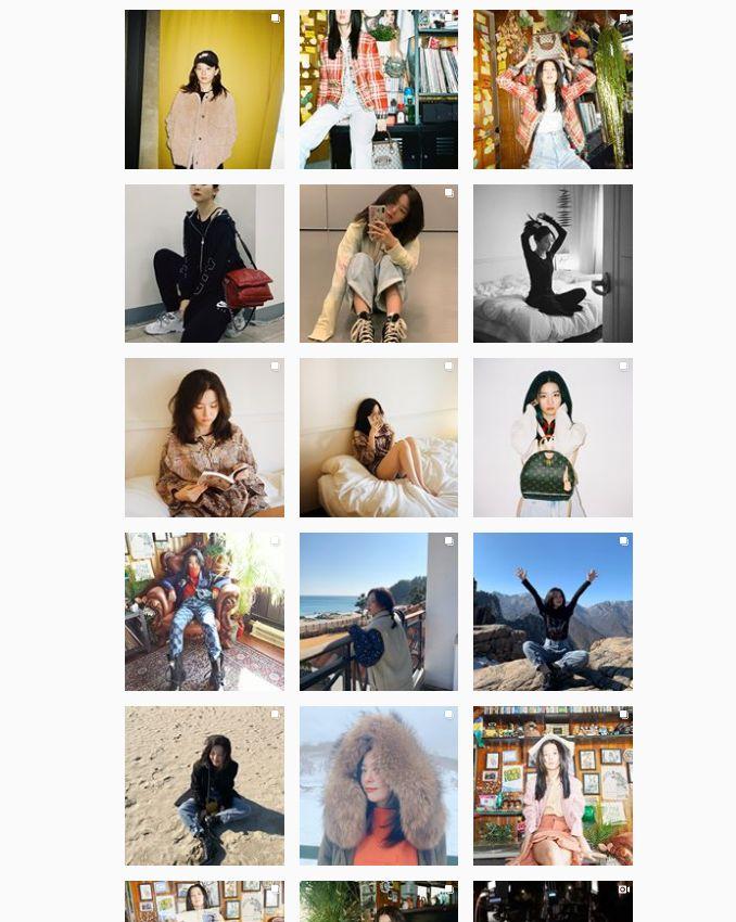 Feed Instagram Idol Estetik