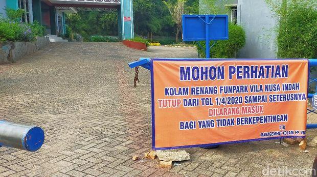 Fun Water Park Di Bogor Mendadak Jadi Kolam Lele