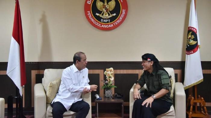 Gus Miftah bertemu Kepala BNPT Komjen Pol Boy Rafli Amar, Kamis (25/6/2020)