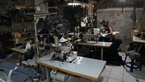 Hutama Karya Berdayakan UMKM Binaan Produksi Masker untuk Disalurkan