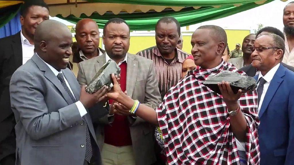 Ini Dia Batu yang Bikin Penambang Tanzania Jadi Miliarder