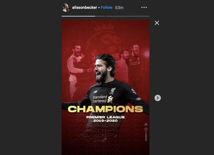 Instagram Liverpool Juara