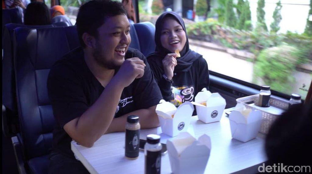 Naik Kafe Bus Transbuck Bisa Keliling Kota Solo Sambil Ngopi