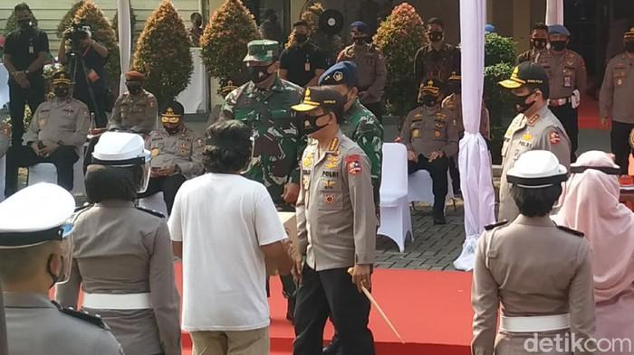 Kapolri Jenderal Idham Azis (Ahmad Bil Wahid/detikcom)