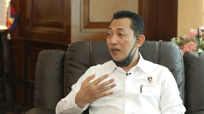 Kabareskrim Polri Komjen Listyo Sigit Prabowo