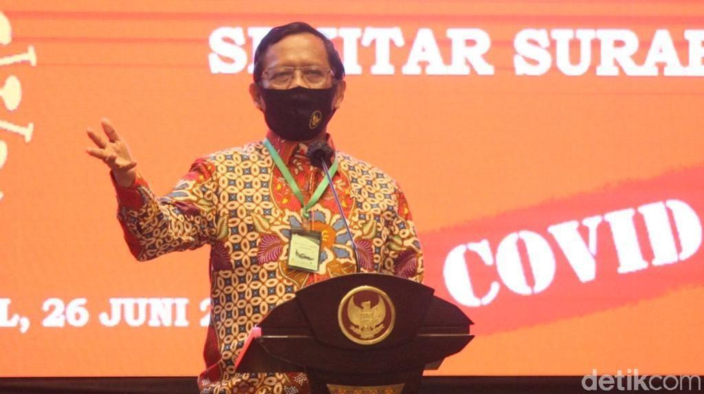 Saling Sindir Mahfud Md Vs Presiden PKS soal Penegakan Hukum