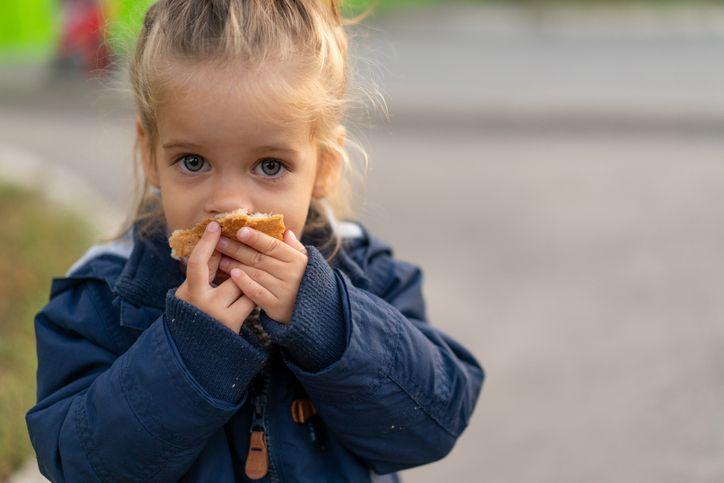 Makanan impian anak-anak yatim