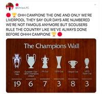 Meme Liverpool Juara