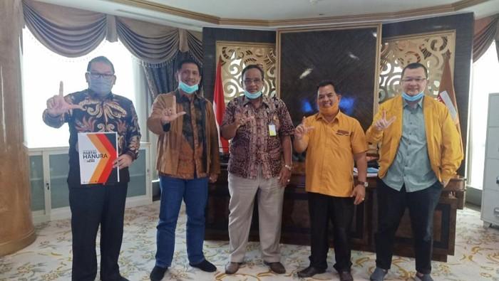 Partai Hanura Beri Dukungan ke Gubernur Jambi Fachrori Umar (Foto : Istimewa)