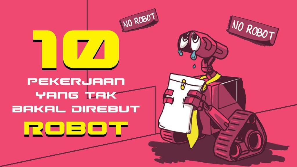 10 Profesi yang Tak Mungkin Digantikan Robot