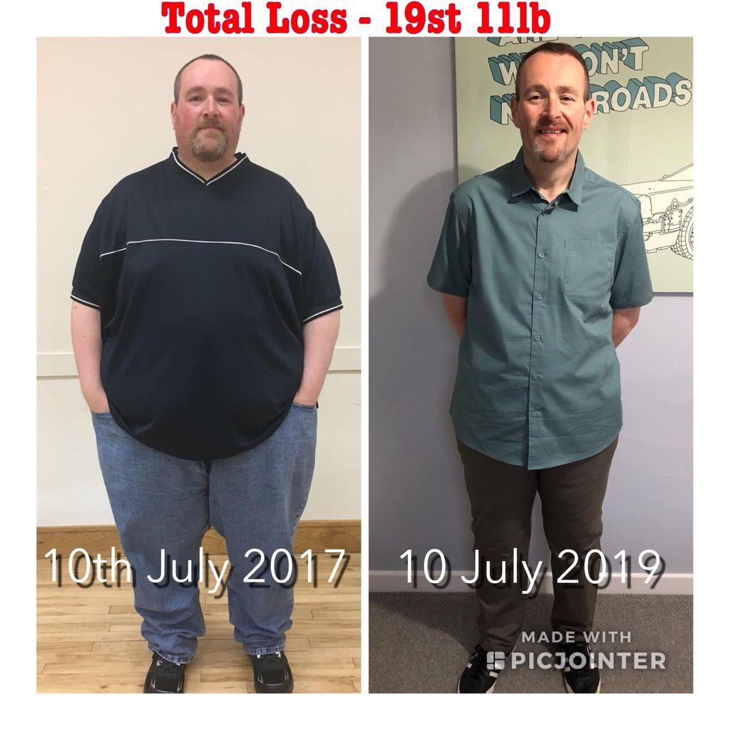 Transformasi tubuh Phil Kayes yang turun berat badan 133 kg.