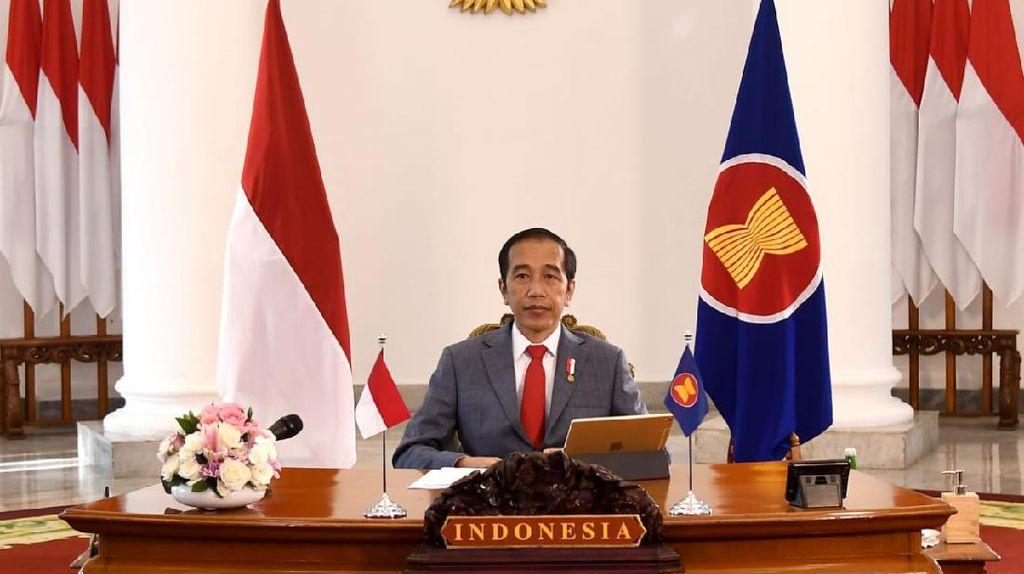 Jokowi Umumkan Indonesia Naik Kelas