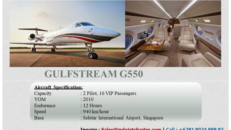 Private jet atau pesawat pribadi