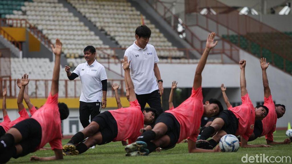 Tunggu Shin Tae-yong, Timnas U-19 Lanjut Latihan Virtual