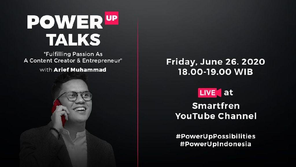 Cerita Awkarin-Arief Muhammad Soal Peluang Anak Muda di Dunia Digital