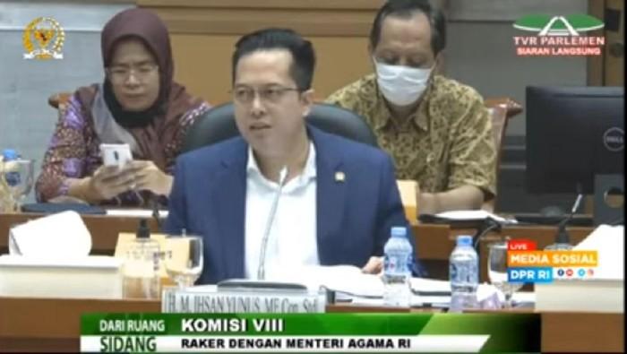 Wakil Ketua Komisi VIII DPR Ihsan Yunus