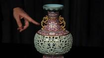 Wow! Vas Antik dari China Ini Siap Dilelang Rp 165 M