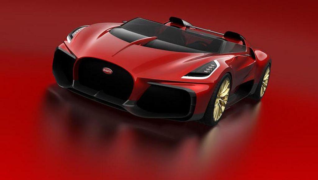 Wuih, Bugatti Chiron Convertible Ini Dibuat Khusus dengan Harga Rp 141 M