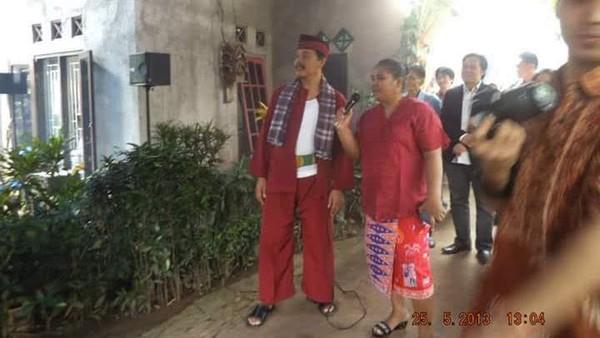 Mulai dari acara nikahan sampai acara keagamaan,komunitas Palang Pintu Sedulur Napiun Kampung Sawah kerap datang mengisi acara (dok Komunitas Palang Pintu Sedulur Napiun Kampung Sawah)