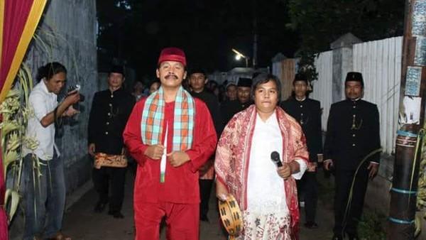 Tak jarang komunitas dari Kampung Sawah ini mengisi aneka acara(dok Komunitas Palang Pintu Sedulur Napiun Kampung Sawah)
