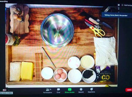 Kelas masak online