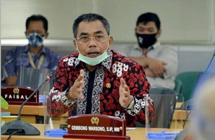 Ketua Fraksi PDIP DKI Jakarta Gembong Warsono.