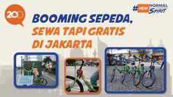 Berbagi Pinjam Sepeda Gratis di Jakarta