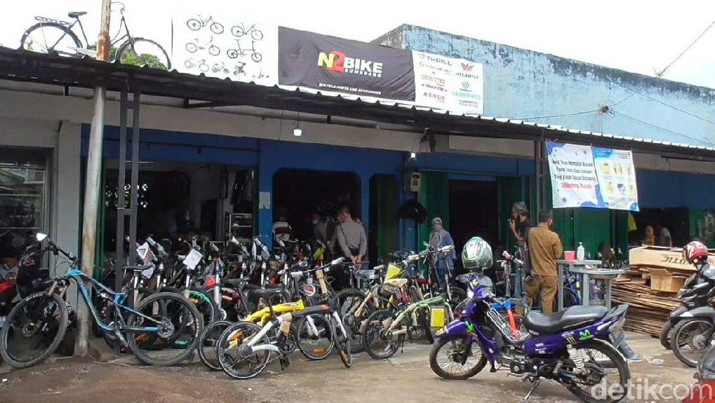 Peminat Sepeda di Sumedang Meningkat, Toko Kehabisan Stok